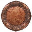 """Jay Import 1320428 ChargeIt! by Jay Emobssed Round Copper 13"""" Charger Plate"""