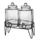 Jay Import Style Setter Hamburg Beverage Dispensers With Stand