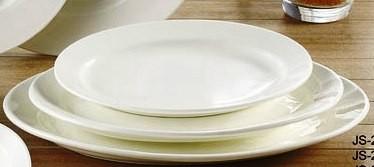 """Yanco JS-210 Jersey 10"""" Oval Platter"""