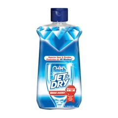 Jet Dry Rinse Agent with Baking Soda, Neutral Liquid, 4.2 oz. Flip-Top Bottle