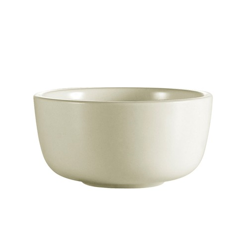 CAC China JB-95 Ceramic Rolled Edge Jung Bowl 9.5 oz.