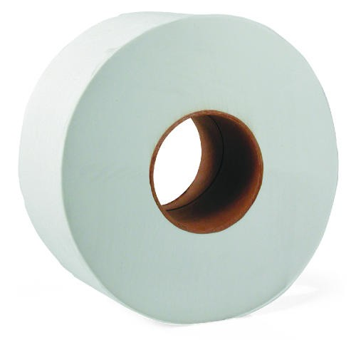 Junior Jumbo Roll Single Ply Toilet Tissue (2000 ft)