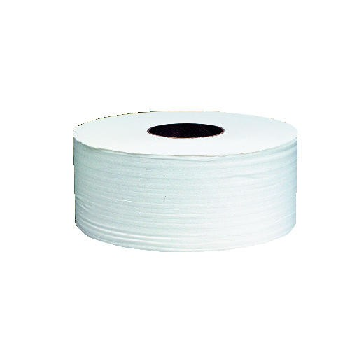 Junior Jumbo Roll Tissue, 3.7W, 1-Ply, White