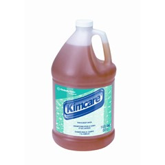 KIMCARE Hair & Body Wash, Golden, Citrus Floral Scent, 1 Gallon Bottle