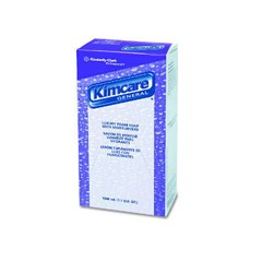 KIMCARE Luxury Foam Soap with Moisturizers, Light Blue, Floral, 1000 ml