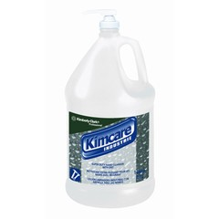 KIMCARE Super Duty Hand Cleanser with Grit, Green, Herbal Fragrance, 1 Gallon