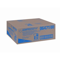 Kimtech Wipers for the WETTASK System, Quat Disinfectants and Sanitizers, 6 Rolls/Carton