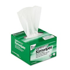 KIMTECH SCIENCE KIMWIPES Delicate Task Wipers, 4 2/5 x 8 2/5, White, 280/Box