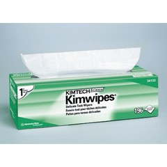 KIMTECH SCIENCE KIMWIPES Delicate Task Wipers, One-Ply, 11 4/5 x 11 4/5, 196/Box