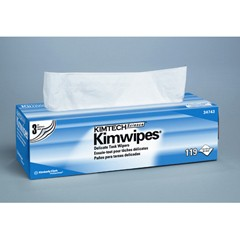 KIMTECH SCIENCE KIMWIPES Delicate Task Wipers, 3-Ply, 11 4/5 x 11 4/5, 119/Box