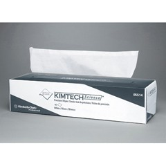KIMTECH SCIENCE Precision Tissue Wipers, POP-UP*, 14 7/10 x 16 3/5, White, 140