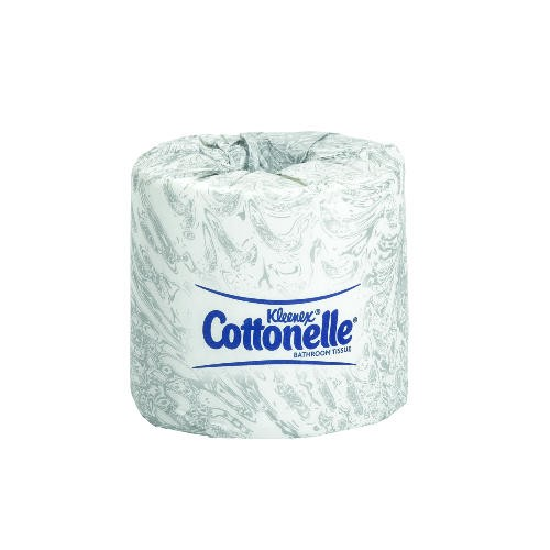 KLEENEX® COTTONELLE® Bathroom Tissue, 4 X 4.5, 2-Ply, White