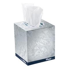 KLEENEX BOUTIQUE White Facial Tissue, 2-Ply, POP-UP Box, 95 Sheet/Box
