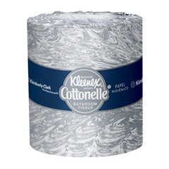 KLEENEX COTTONELLE Bath Tissue, 2-Ply, 4.09 x 4 Sheet, 505 Sheets/Roll