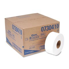 KLEENEX COTTONELLE JRT Jr. Jumbo Tissue, White, 2-Ply, 9