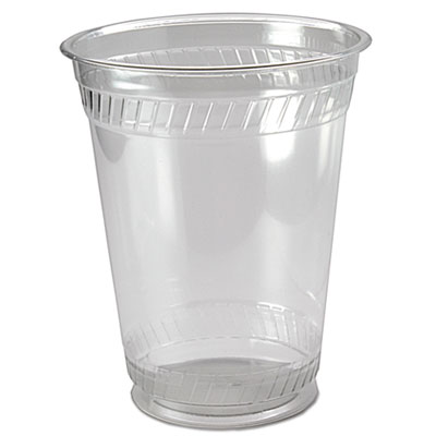 Kal-Clear PET Cold Drink Cups, 16/18 oz, Clear, 50/Sleeve, 20 Sleeves/Carton