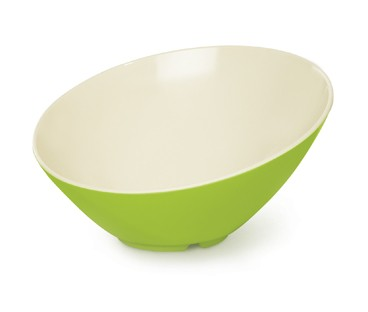 G.E.T. Enterprises B-792-KL Keylime 24 oz. Melamine Cascading Bowl
