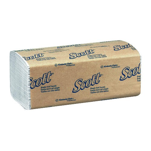 Kimberly Clark Professional 01700 SCOTT Single Fold Paper Towels 10.5 X 9.3 1 Ply, White