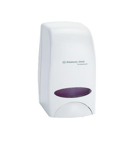 Kimberly Clark Professional Cassette Skin Care Dispenser, 1000 ml, White, 5.900 X 5.400 X 8.660