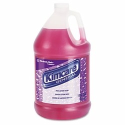 Kimberly Clark Professional Pink Lotion Soap, 1 Gallon, Peach Scent