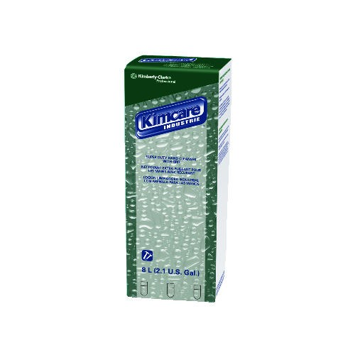Kimberly Clark Professional Super Duty Hand Cleanser with Grit, Bag in Box, 8 L, Green, Herbal Scent