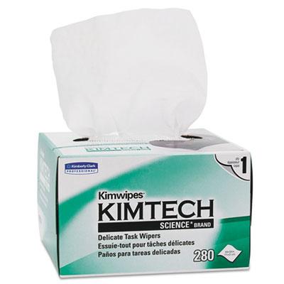 Kimwipes Delicate Task Wipers, 280 Wipers/Box