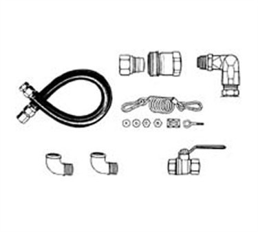 Franklin Machine Products  157-1085 Kit, Cimfast Gas Hose (3/4X48 )