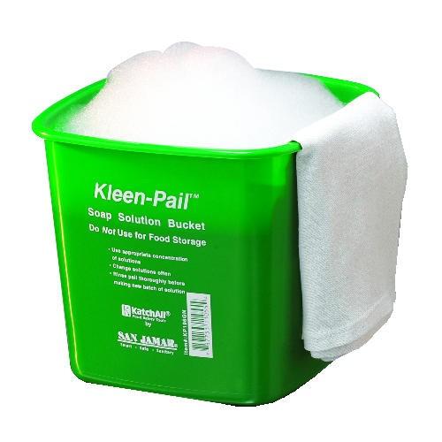 Kleen-Pail, 6qt, Plastic, Green