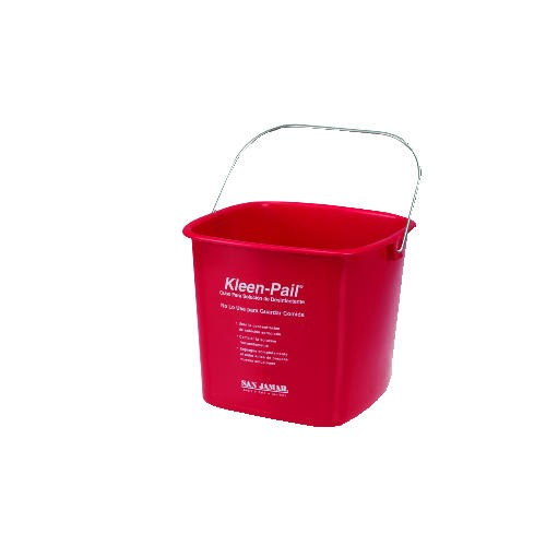 Kleen-Pail Sanatizing Solution, Red