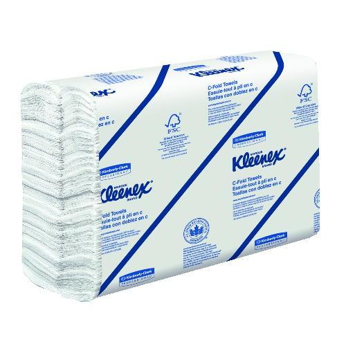 Kleenex C-Fold Paper Towel 10.125 X 13.15 1-Ply, White