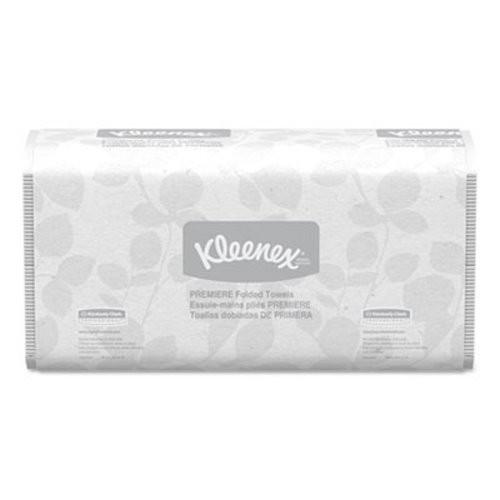 Kleenex Premiere Folded Paper Towels, White, 3000/Carton