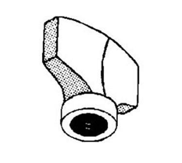 Franklin Machine Products  203-1052 Knob, Chute Support (3/8-24F)