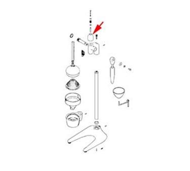Franklin Machine Products  176-1232 Knob, Push