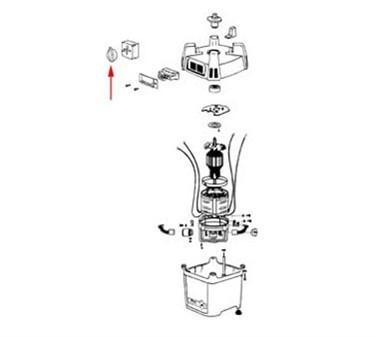 Franklin Machine Products  222-1273 Knob, Timer