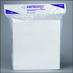 Konie Cups International KIMTECH PURE W4 Dry Wipers, Flat, 9 x 9, White, 100/Pack (Box of 500)