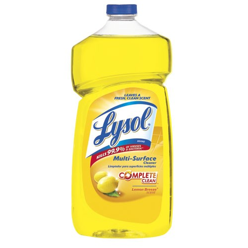 LYSOL� All Purpose Cleaners, Lemon Breeze� Pourable 40 Oz Bottles