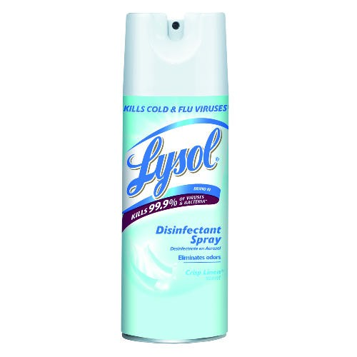 LYSOL� Disinfectant Spray, Crisp Linen�, 12.5oz