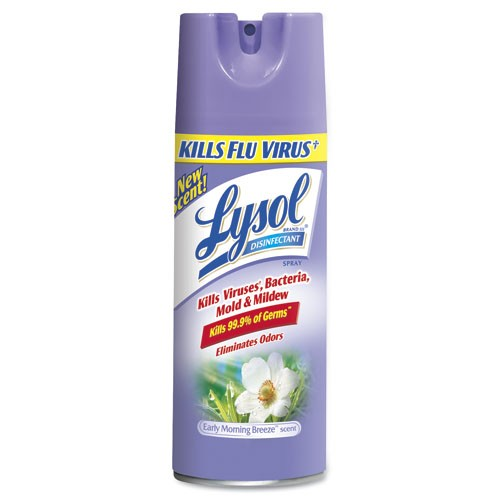 LYSOL� Disinfectant Spray, Early Morning Breeze™, 19 Oz