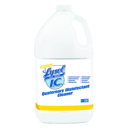 LYSOL� IC™ Quaternary Disinfectant Cleaner Concentrate, Use dilution 1:256 (1/2 oz./gal.)
