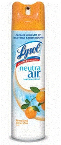 LYSOL® NEUTRA AIR®Air Freshener Aerosol, Citrus 10oz
