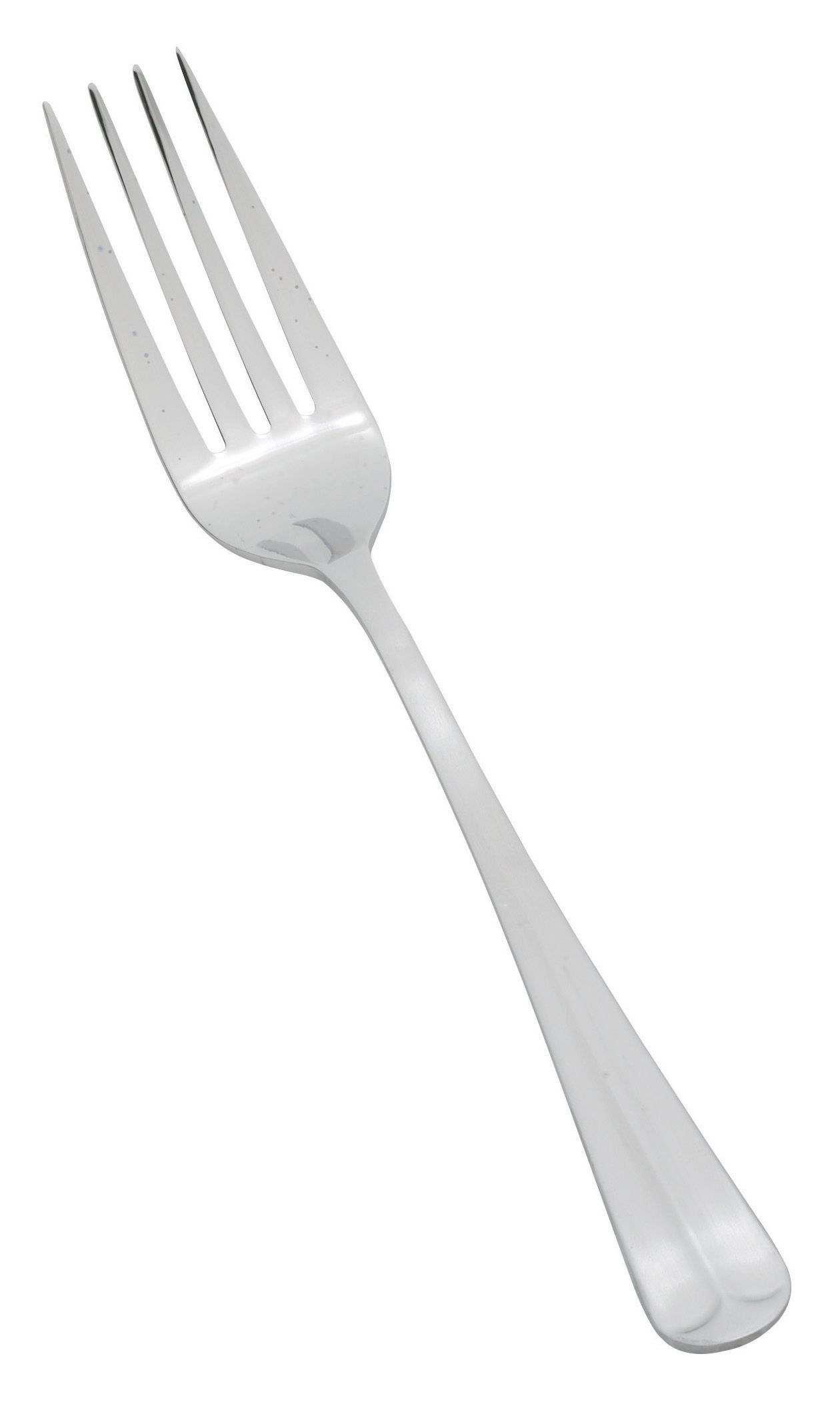 Winco 0015-054 Lafayette Heavy-Handle Satin Finish 4-Tines Dinner Fork (12/Pack)