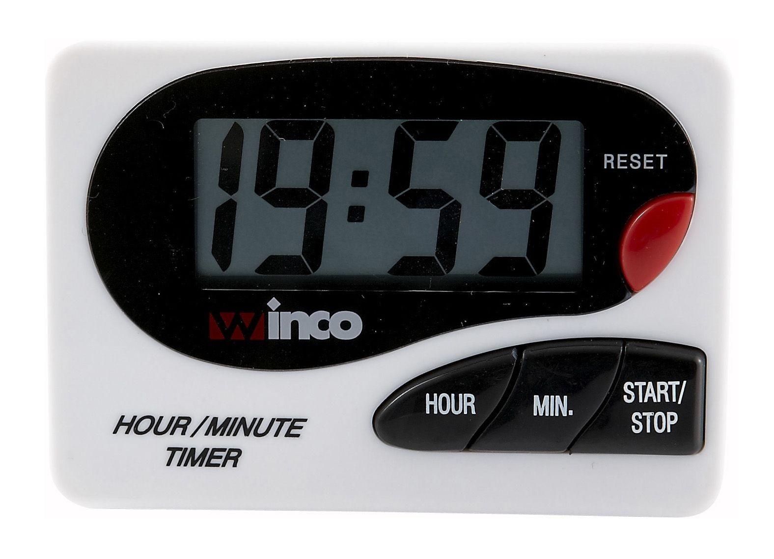 Winco TIM-85D Minute Digital Timer LCD