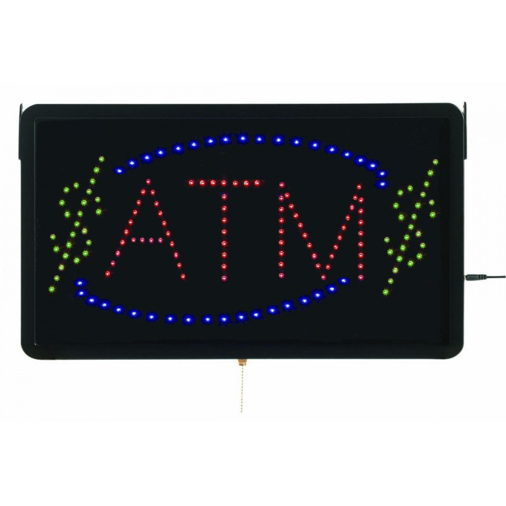 "Aarco Products ATM10L High Visibility Large LED Sign ATM 13""H x 22""W"