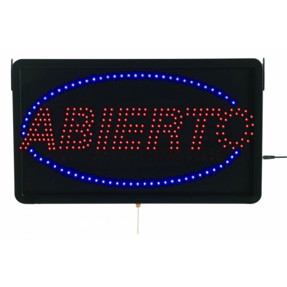 "Aarco Products ABI08L Large Spanish LED Sign Abierto (Open) 13""H x 22""W"