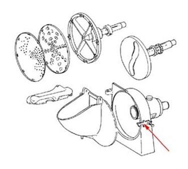 Franklin Machine Products  282-1015 Latch (with Set Screw)