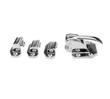 Franklin Machine Products  122-1213 Latch (with Fl, 1/8, 3/8Strikes )