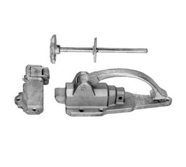 Franklin Machine Products  122-1200 Latch (with Fl Strike/Ir )