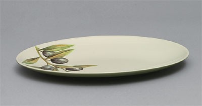 Laurel Melamine Oval Platter - 10-1/8