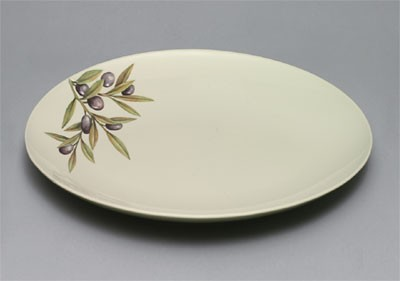 Laurel Melamine Round Large Platter - 16