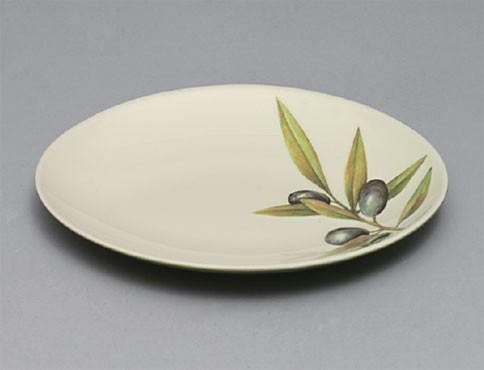 Laurel Melamine Round Salad Plate - 10-1/4